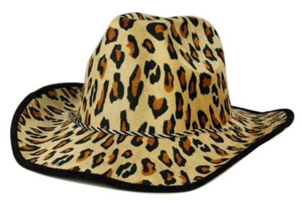 Chapeau cowboy Panth�re