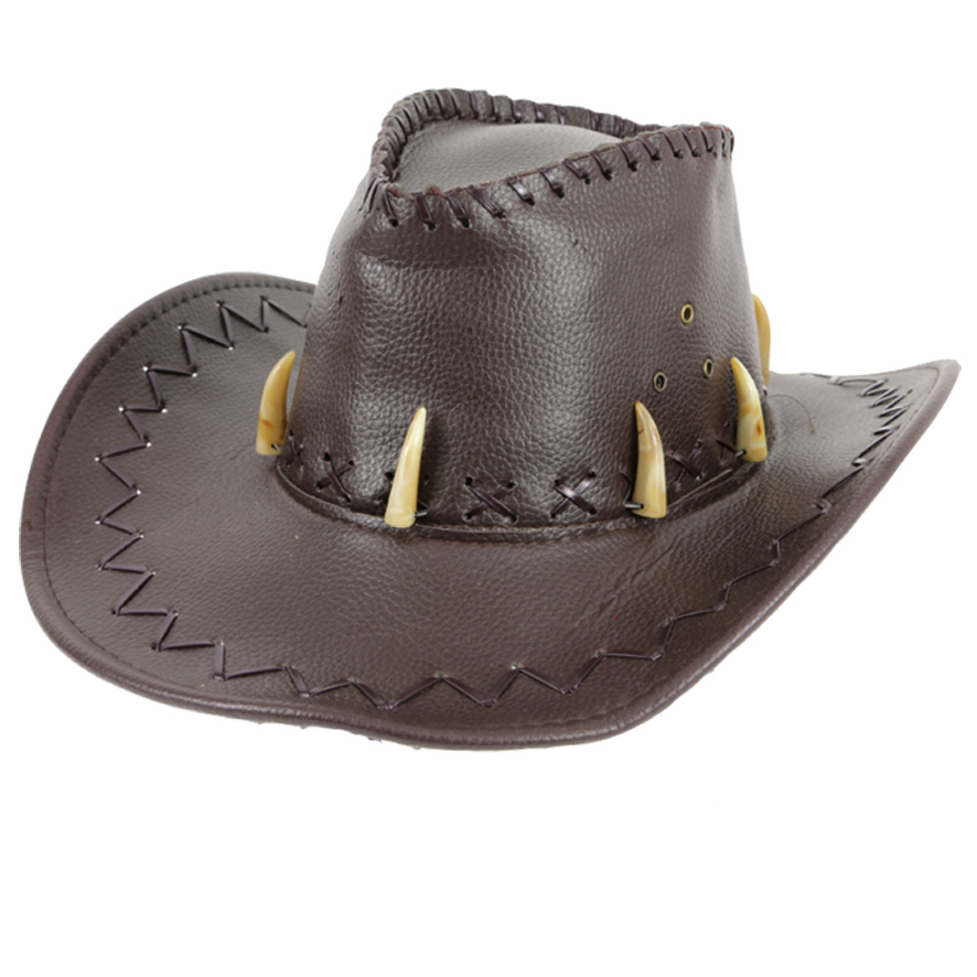 Chapeau cow boy crocodile
