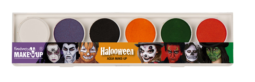 Maquillage professionnel box halloween