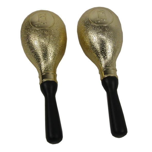 Boules samba  2 pieces maracas OR