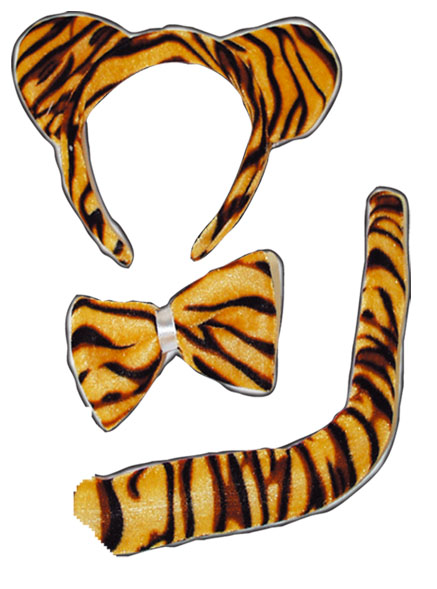 Set tigre 3 pieces