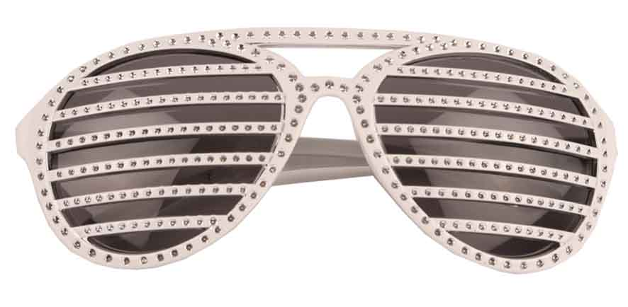 Lunettes disco screen STRASS