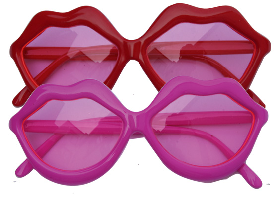 lot 2 Lunettes Flashy Lips