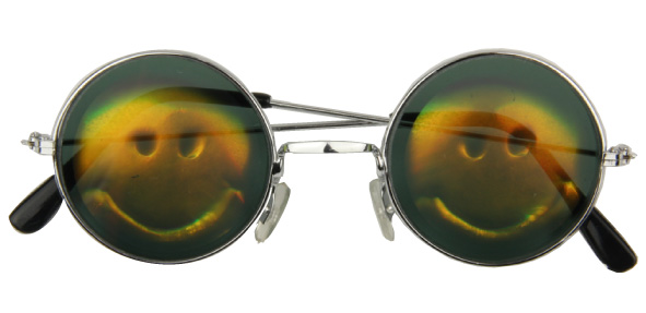 Lunette hologramme SMILEY