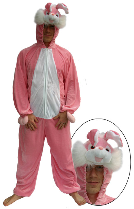 Deguisement Lapin Rose taille M