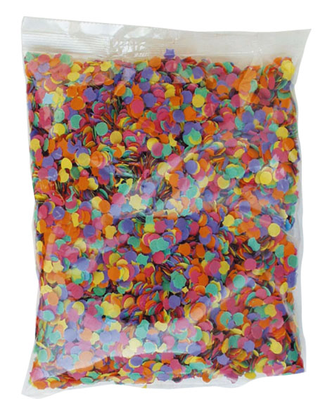 lot 50 Confetti   200 gr  multicolors