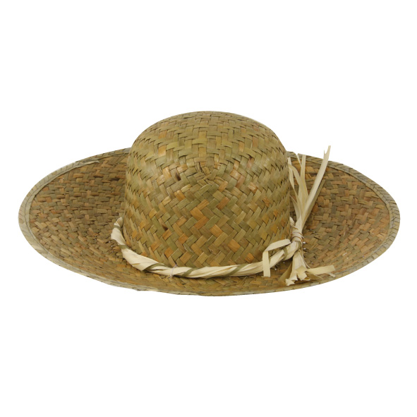 Chapeau paille naturel