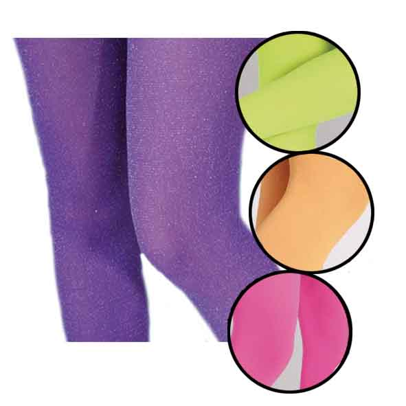 Collants Fluo 4 coloris